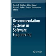 "Springer ""Recommendation Systems in Software Engineering"" Book"