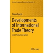 "Springer ""Developments of International Trade Theory"" Hardcover Book"