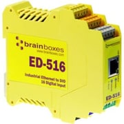 Brainboxes ED-516 Ethernet to 16 Digital Input Device Server