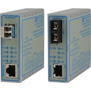 Omnitron FlexPoint GX/T 10/100/1000 Copper To 100/1000X Fiber Ethernet Media Converter