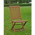 International Caravan Highland Acacia Folding Patio Chair (Set of 2)