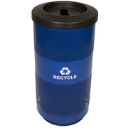 Witt Metal Recycling 20-Gal Perforated Industrial Recycling Bin; Slot