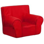 Flash Furniture Cotton Twill Small Solid Kids Chair, Red