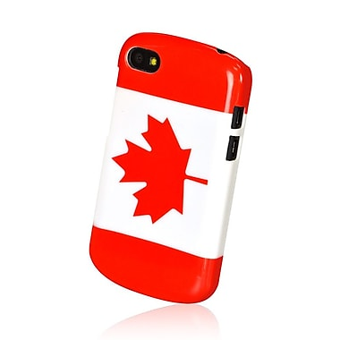 Gel Grip Blackberry Q10 Flag Shell, Canada