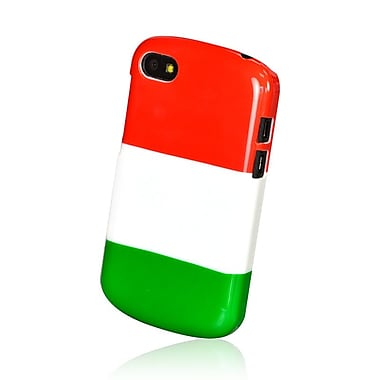 Gel Grip Blackberry Q10 Flag Shell,Italy