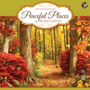 TF Publishing Peaceful Places by Alan Giana 2015 Wall Calendar
