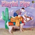 TF Publishing in.Playful Pigsin. 2015 Wall Calendar
