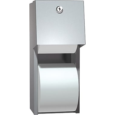 ASI Surface Mounted Dual Roll Bathroom Tissue Dispenser