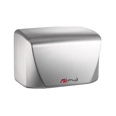ASI – Sèche-mains à haute vitesse Turbo Dri Junior, temps de séchage de 15 secondes, 110 à 120V, blanc porcelaine