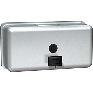 ASI Horizontal Soap Dispenser, Stainless Steel