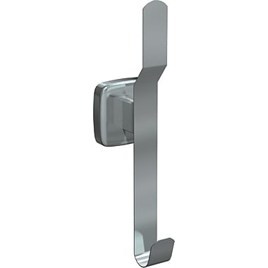 ASI Hat and Coat Hook, Satin Finish, 2/Pack