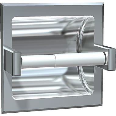 ASI Recessed Paper Holder, Satin Finish
