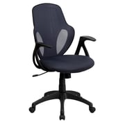 Flash Furniture Mesh Mid-Back Executive Chair, Dark Gray