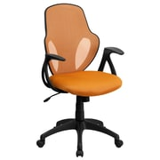 Flash Furniture Mesh Mid-Back Executive Chair, Orange