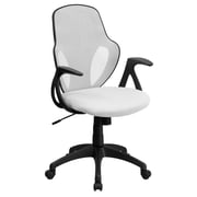 Flash Furniture Mesh Mid-Back Executive Chair, White