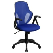Flash Furniture Mesh Mid-Back Executive Chair, Blue