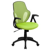 Flash Furniture Mesh Mid-Back Executive Chair, Green