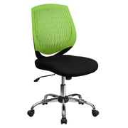 Flash Furniture Mid-Back Padded Foam Fabric Task Chair, Green