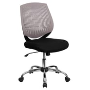 Flash Furniture Mid-Back Padded Foam Fabric Task Chair, Gray