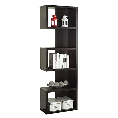 Coaster Wood Semi-Backless Bookshelves