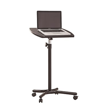 Coaster® Desk Laptop Stand With Casters, Black