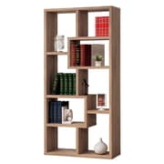 Coaster® Wood Open Bookcase, Distressed Brown
