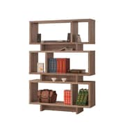 Coaster® Wood Open Casual Bookcase, Distressed Grey