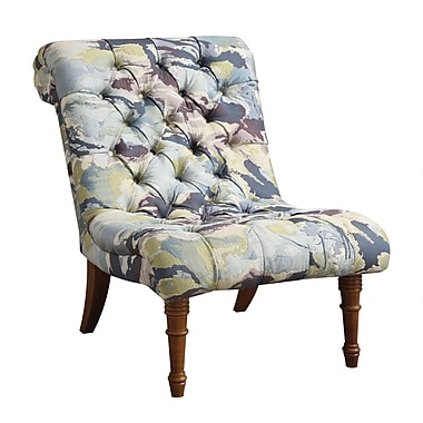Coaster® Accent Seating Woven Fabric Tufted Accent Chairs