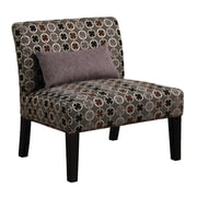 COASTER Fabric Armless Accent Chair, Multi (902234)