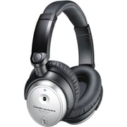 Audio-Technica® ATH-ANC7B-SVIS QuietPoint 500 mW Active Noise-Cancelling Headphone, Silver