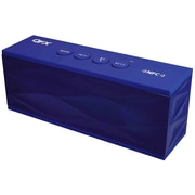 QFX™ NFC/Bluetooth Portable Rechargeable Mini Speaker, Blue