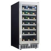Danby® Silhouette Select® DWC93 3.28 cu.ft. Built-In Wine Cellar, Black/Stainless Steel