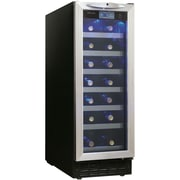 Danby® Silhouette® DWC276 2.52 cu.ft. Built-In Wine Cellar, Black/Stainless Steel