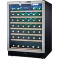 Danby® Designer DWC508 5.3 cu.ft. Built-In Wine Cooler, Black/Stainless Steel