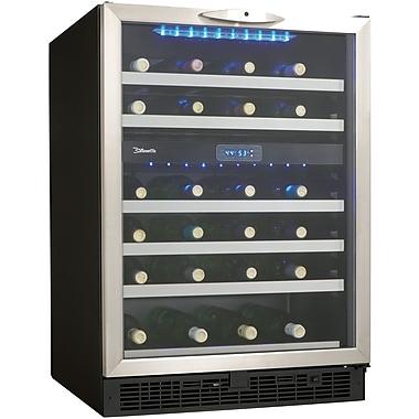Danby® Silhouette® DWC518 5.1 cu.ft. Built-In Wine Cellar, Black/Stainless Steel