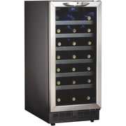 Danby® Silhouette® DWC1534 3.3 cu.ft. Built-In Wine Cooler, Black/Stainless Steel