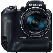 Samsung® WB2200F 16 MP 60x Optical Zoom Smart Digital Camera, Black