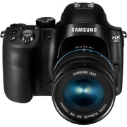 Samsung® NX30 20.3MP Mirrorless Interchangeable Lens Digital Camera With 18-55mm Lens, Black