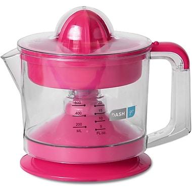 Storebound® Dash Go™ Dual Citrus Juicer With 32 oz. Plastic Jug, Pink