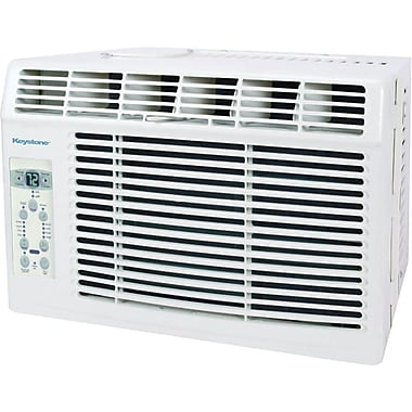Keystone® KSTAW05B 5000 BTU Window-Mounted Air Conditioner With Remote Control, White