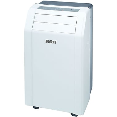 RCA® RACP1206 Energy Star 12000 BTU 3-In-1 Portable Air Conditioner With Remote Control, White
