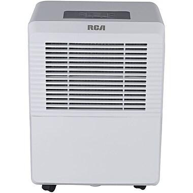 RCA® RDH505 50 Pint 2-Speed Dehumidifier, White