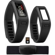 Garmin® vivofit Fitness Band Bundle With Heart Rate Monitor/2 Bracelets/USB ANT Stick, Black (VIVOFITBLACK-B)