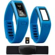 Garmin® vivofit™ Fitness Band Bundle With Heart Rate Monitor/2 Bracelets/USB ANT Stick, Blue