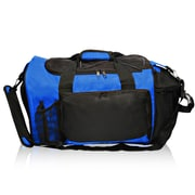 Natico Originals Multi Pocket Deluxe Sports Duffel Bag, Blue