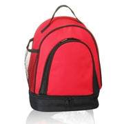 Natico Originals Two-Tone Insulated Lunch Bag, Red