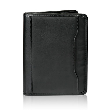 Natico Originals Portfolio With Memo Pad, Black