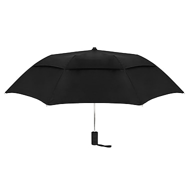 Natico Originals Vented Little Giant Auto Open Umbrella, Black
