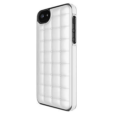 Adopted iPhone 5/5S Cushion Wrap Case, White/Silver