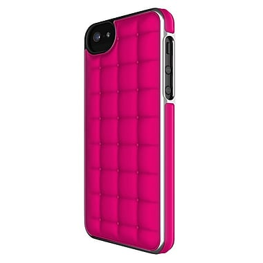 Adopted iPhone 5/5S Cushion Wrap Case, Fusion Pink/Silver